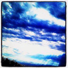 Indigo skies....