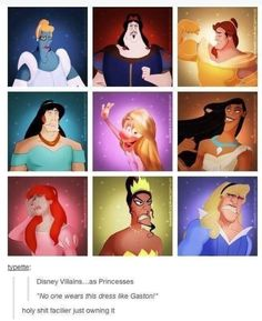 What have they done to the disney princesses XD