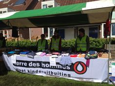 Yearly Charity Fair in 's Heer Hendrikskinderen for Terre des Hommes! Great day!!