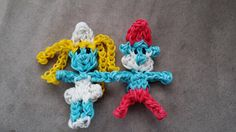 Hey, I found this really awesome Etsy listing at https://www.etsy.com/listing/176873403/free-shipping-smurf-rainbow-loom-charm