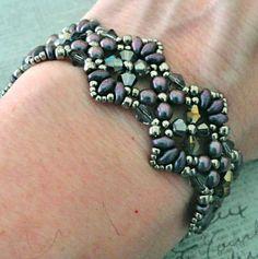 Bracelet of the Day: Flutter - Orchid Aqua