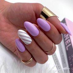 Neon Nail Art, Neon Nails, Violet Nails, Purple Nails, Popular Nail Designs, Cute Nail Designs, Art Designs, Design Art, Cute Nails