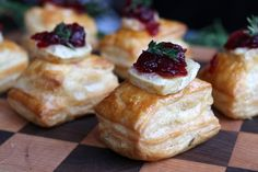 Christmas is the time of year for unexpected guests and visitors, why not make them feel at home by making these super quick, bite sized nibbles? Tip: They go down a treat with a glass of mulled wine.