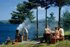 Galería | Un siglo de comer al aire libre alrededor del mundo