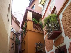 El Callejon del Beso en Guanajuato,