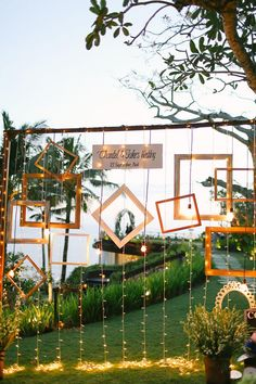 The Bali Wedding You've Been Dreaming Of Wedding photo booth backdrop. Credits in comment. Desi Wedding Decor, Bali Wedding, Indian Wedding Decorations, Rustic Wedding Backdrops, Photos Booth, Diy Photo Booth, Photo Booth Backdrop, Night Wedding Photos, Wedding Night