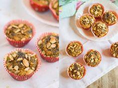 Receita de Muffins de Batata Doce  #recipe #muffins #sweetpotato #healthy #fit