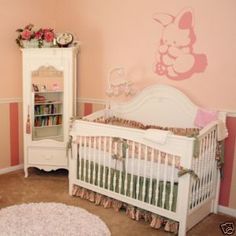 Bunny Themed Nursery Rabbit Boy Ideas White