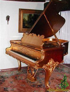 Weber art cased Grand piano - Circa 1904