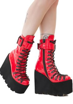 Current Mood Lacquer Traitor Boots