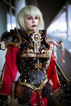Sister Ophelia Warhammer 40,000 Cosplay