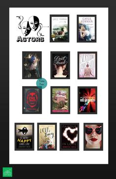 Love books about actors, drama, comedy, and theater? Check out these YA books!