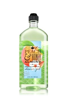 Peach & Honey Almond Shower Gel - Signature Collection - Bath & Body Works