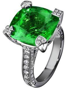 Anillo Platino Diamante - PIAGET Joyas y Alta Joyería G34LC300