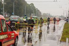 Latvian Cyclists Demonstrate How Cycling Saves Room on the Roads