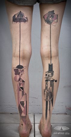 Creative Duo Inks Brilliant Tattoo Designs Based On Stories From Clients - DesignTAXI.com