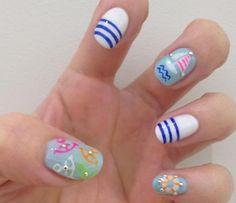Nail Art Tutorial: Let's Get Nautical