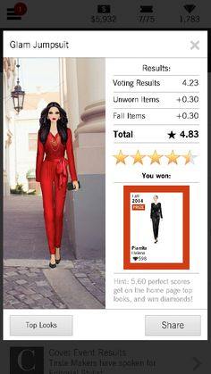 Glam Jumpsuit #fall2014 #doubleprize