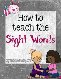 Super Effective Program Teaches Children Of All Ages To Read. Teaching Sight Words, Sight Word Practice, Sight Word Activities, Babysitting Activities, Preschool Learning, Literacy Activities, Learning Time, Toddler Learning, Preschool Worksheets