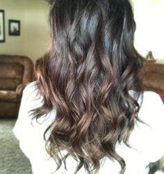 Melting color on black hair! #melting #blackhair #ombre #curls #longhair
