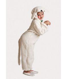 Disfraz de Oveja para niños , Original Disfraz de oveja para niños, mono de lana…