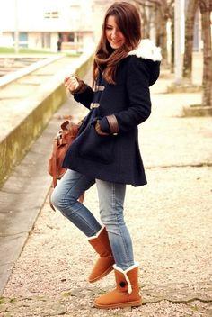 Para los días más fríos de invierno la ropa cálida es lo mejor. Lleva abrigo y botas aborregadas para un infalible atuendo contra el mal clima. http://www.linio.com.mx/moda/ropa-para-dama/?utm_source=pinterest&utm_medium=socialmedia&utm_campaign=MEX_pinterest___fashion_frio_20141113_16&wt_sm=mx.socialmedia.pinterest.MEX_timeline_____fashion_20141113frio16.-.fashion