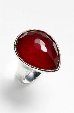 Ippolita 'Grotto' Large Teardrop Ring-setting!