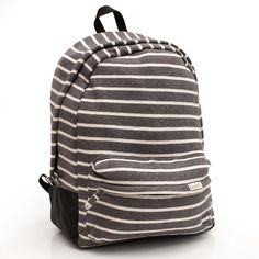 Made from super soft sweatshirt fleece, this backpack is a comfortable fit.