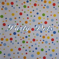 Specialty Backdrop - Party Dots - Great for a child's milestone birthday portraits!