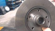 Como adaptar freio a disco na traseira do fusca, freio a disco nas 4 rod...