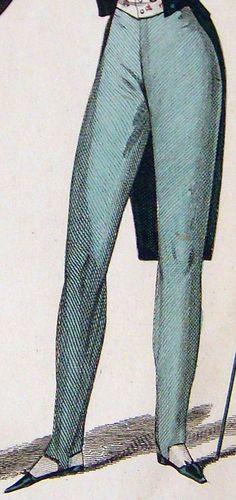 Théorie de l'Art du Tailleur, Juillet 1836  Costumes des ateliers de Mr. Humann, Chemises des Magasins de Mrs. Pierret et Lamy-Housset