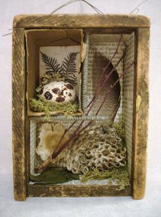 lovely assemblage by The Feathered Nest