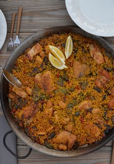 Valencian Paella, Cooked on the Fire