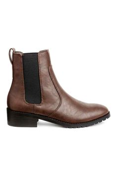 Chelsea boots - Dark brown - Ladies | H&M GB