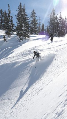 Snow Skiing ~ Steamboat Springs, CO  A wonderful ski town to have a vacation house.