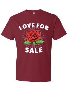 Love for sale – uDesign Demo / T-shirt Design Software T Shirt Design Software, Shirt Designs, Love, Mens Tops, Shirts, Fashion, Amor, Moda, Fashion Styles