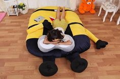 Minion Mattress Bed Despicable Me Pillow Floor Sleeping