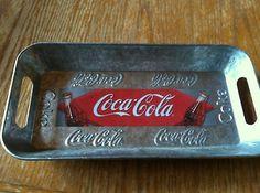 Coca Cola Tin Tray with Handles   eBay