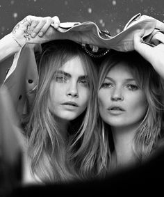 Cara Delevingne and Kate Moss' latest will break the internet