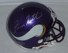 HOF Fran Tarkenton Signed Vickings Mini Helmet PSA COA . $125.00. Former Hall of Fame Minnesota Vickings QuarterbackFran TarkentonHand Signed Vickings Riddell Mini HelmetWith BoxWONDERFUL AUTHENTIC FRAN TARKENTON FOOTBALL COLLECTIBLE!!! .AUTOGRAPH AUTHENTICATED BY PSA DNA AUTHENTICATIONS WITH NUMBERED PSA DNA STICKER ON ITEM AND MATCHING PSA DNA CERTIFICATE OF AUTHENTICITY (COA) INCLUDED WITH ITEM.PSA DNA COA #: G 25518