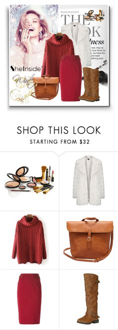 """Shein (2)  2"" by aida-1999 ❤ liked on Polyvore featuring Topshop, Emporio Armani and vintage"