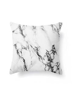 SheIn - SheIn Marble Print Pillowcase Cover - AdoreWe.com