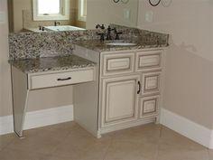 custom vanity bath white