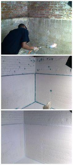 Prep prime patch u0026 topcoat u003d WATERPROOFED Basement & How to Clean Mold Off Basement Concrete Walls | Pinterest | Concrete ...