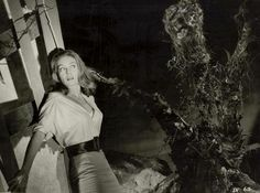 Janette Scott in a promo pic for the 1962 film The Day of the Triffids