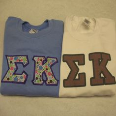 Find the largest selection of Sigma Kappa Sorority Apparel, Merchandise, & Gifts. Something Greek also carries Sigma Kappa custom embroider apparel & printed Sorority Gifts. Shop now for personalized Greek gear and Sigma Kappa sorority group orders. Sorority Outfits, Sorority Gifts, Greek Gear, Custom Greek Apparel, Sigma Kappa, Greek Clothing, Embroidered Clothes, Screen Printing, Sweatshirts