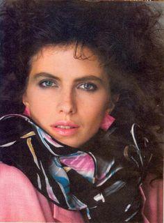"""""""Paris… When It Sizzles!"""", Vogue US, April 1982 Photographer : Bill King Model : Jacki Adams"""