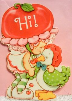 Strawberry Shortcake Greeting Cards - Just A Note @ Toy-Addict.com