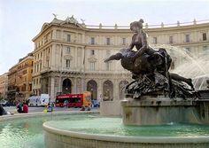 Italy, Rome (Piazza Republica)