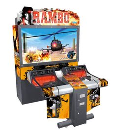 Rambo First Blood arcade cabinet